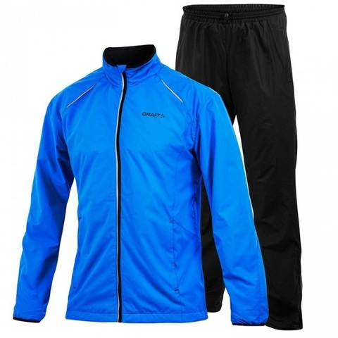 Костюм для бега Craft Active Run Wind Black blue мужской