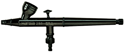 Аэрограф Hansa 281 black
