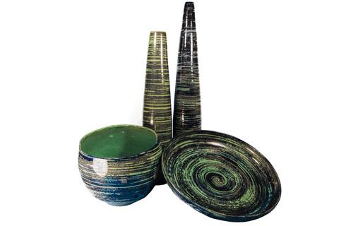 Элитная ваза декоративная Maelstrom средняя от S. Bernardo
