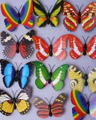 Бабочка на магните 12шт 289831