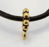"Бейл TierraCast ""Бусинки"" 10х7х2 мм (цвет-античное золото)"