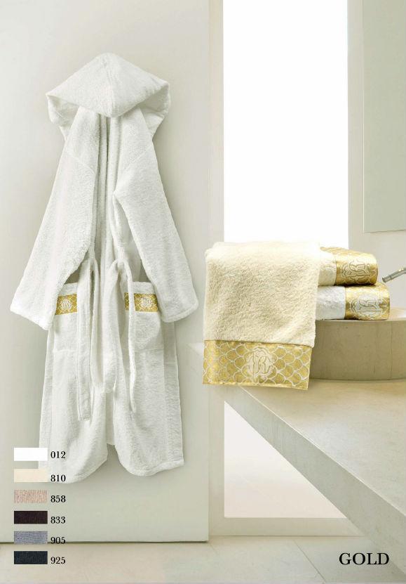Ванная Халат с шалькой Roberto Cavalli Gold белый halat-polotenze-gold-roberto-cavalli.jpg