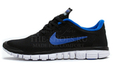 Кроссовки Мужские Nike Free Run 3.0 V2 Blue Black White