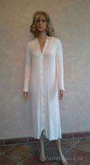 Элитный халат вязаный Leyre от Jaycris-Artesania
