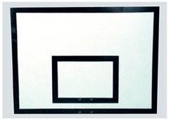 Щит баскетбольный фанерный 18мм, 1200х900 мм