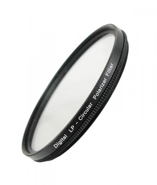 Поляризационный фильтр Flama CPL Filter 55mm (светофильтр для фотоаппарата с диаметром объектива 55 мм)
