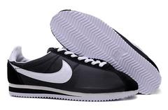 Кроссовки Мужские Nike Cortez Nylon Black White