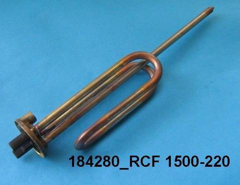 Нагревательный элемент (ТЭН) для водонагревателя Ariston (Аристон) WTH012UN - 1,5кВт 230В, анод M6