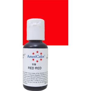 Краска краситель гелевый RED RED 119, 21 гр