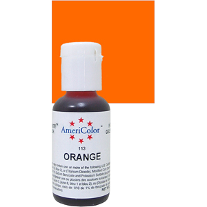 Краска краситель гелевый ORANGE 113, 21 гр