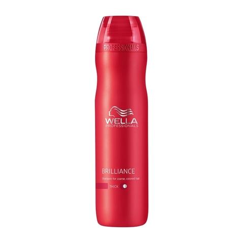 Wella Care3 Шампунь для окрашенных жестких волос Brilliance shampoo купить online