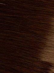 Накладка из натуральных волос Magic Stands -Оттенок #4A шоколад-длина 38 см
