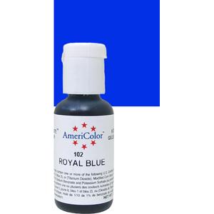 Краска краситель гелевый ROYAL BLUE 102, 21 гр
