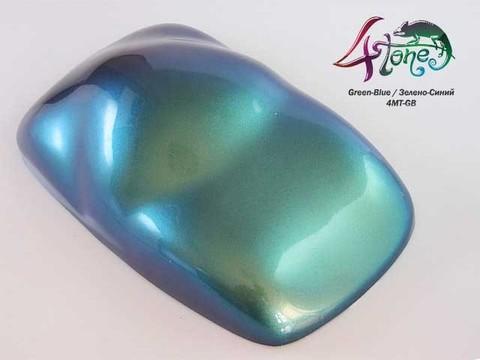 Краска Bugtone 4Tone Green-Blue хамелеон зелено-синий средняя зернистость,прозр.120мл