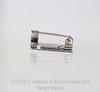 Основа для броши с квадратной площадкой 15х15 мм (цвет - античное серебро) ()