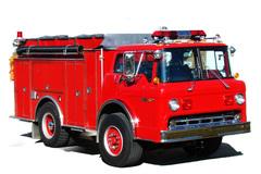 Мигалка HOR 200 на пожарной машине