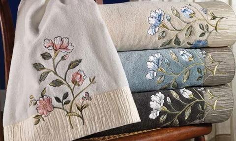 Полотенце 28х46 Avanti Jardin белое