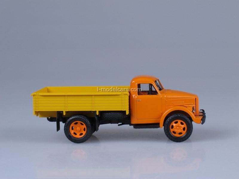 GAZ-51A orange-yellow 1:43 Nash Avtoprom