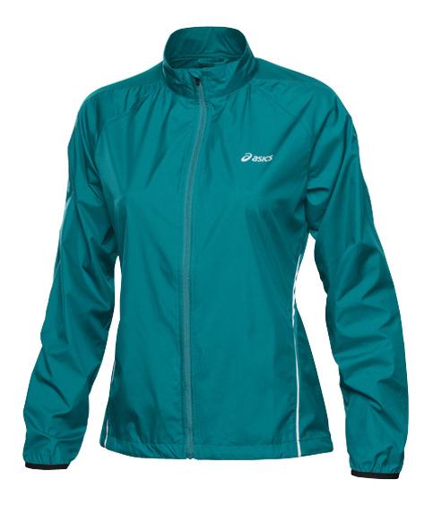Ветровка женская Asics Woven Jacket black green