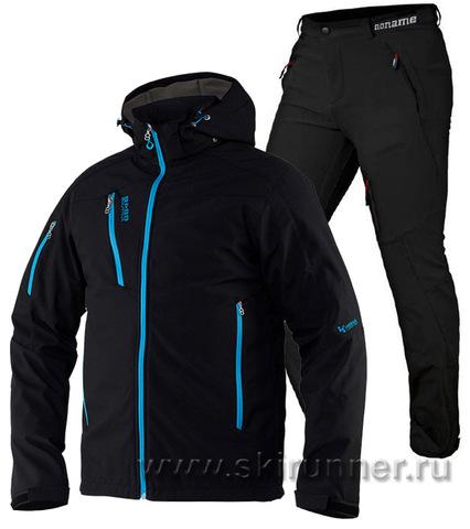 Лыжный утепленный костюм 8848 Altitude Recharger Black Noname Grassi