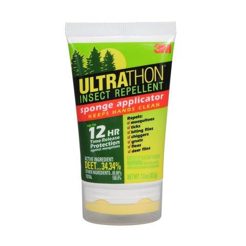 Лосьон UltraThon с апликатором до 12 часов защиты от клещей мошки и комаров