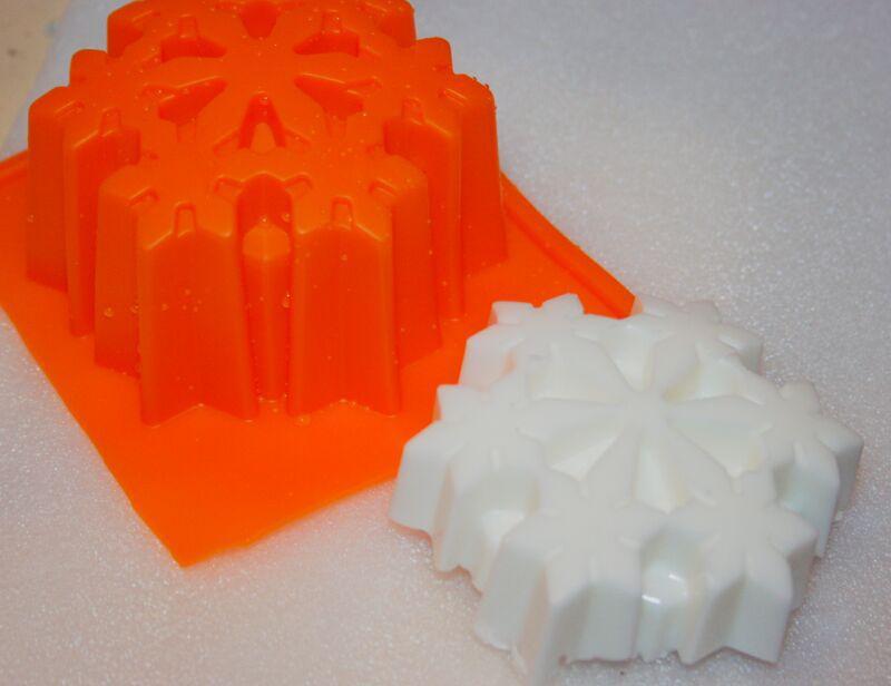 Снежинка №2 силиконовая форма