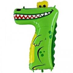 Г Цифра, 7 Крокодил, в упаковке, (40
