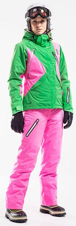 Брюки горнолыжные 8848 Altitude Ritha жен Neon Pink