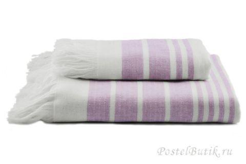 Полотенце 50x100 Hamam Marine Towel лаванда