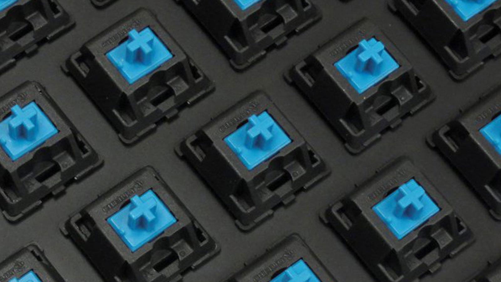 Механические переключатели Cherry MX Blue