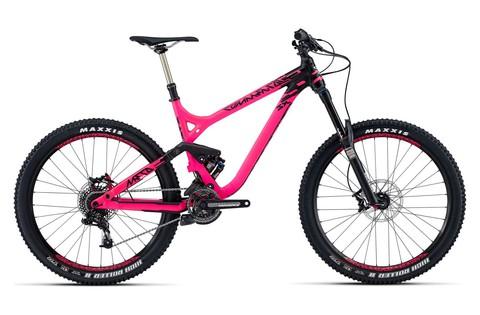 Commencal Meta SX Essential 650B (2015) розовый с черным
