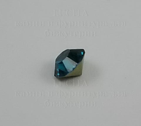 Стразы ювелирные (цвет - морская волна) 5 мм , 10 шт ()