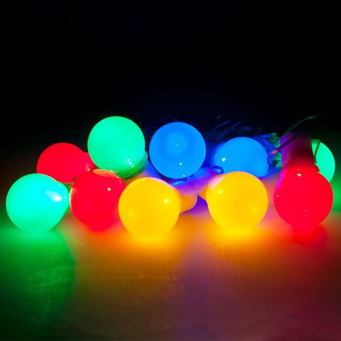 Гирлянда светодиодная «Яркие цветные шарики», CL118 (Feron)