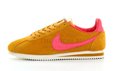 Кроссовки Мужские Nike Cortez Brown Coral Suede