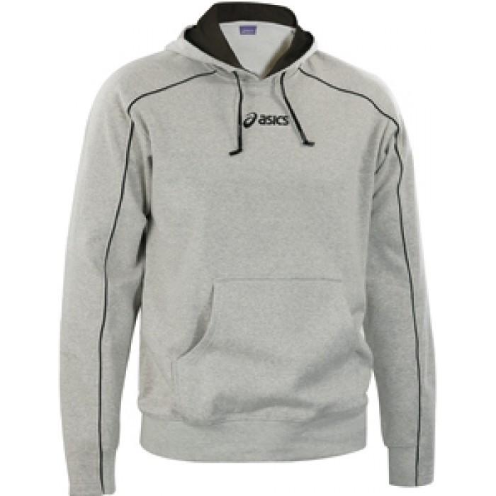 Мужская толстовка Asics Felpa hood (T669Z8 0094) grey фото
