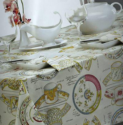 Скатерти Скатерть 150x180 и 6 салфеток Mirabello Pottery белые skatert-Pottery-mirabello-italiya.jpg