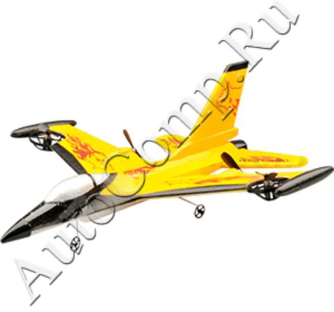 Радиоуправляемый самолет Wentoys Yellow Hawk 9106 (код: 9106)
