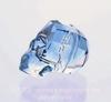 """5750 Бусина """"Череп"""" Сваровски Denim Blue 13 мм"""