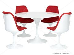 стол обеденный tulip dining table round
