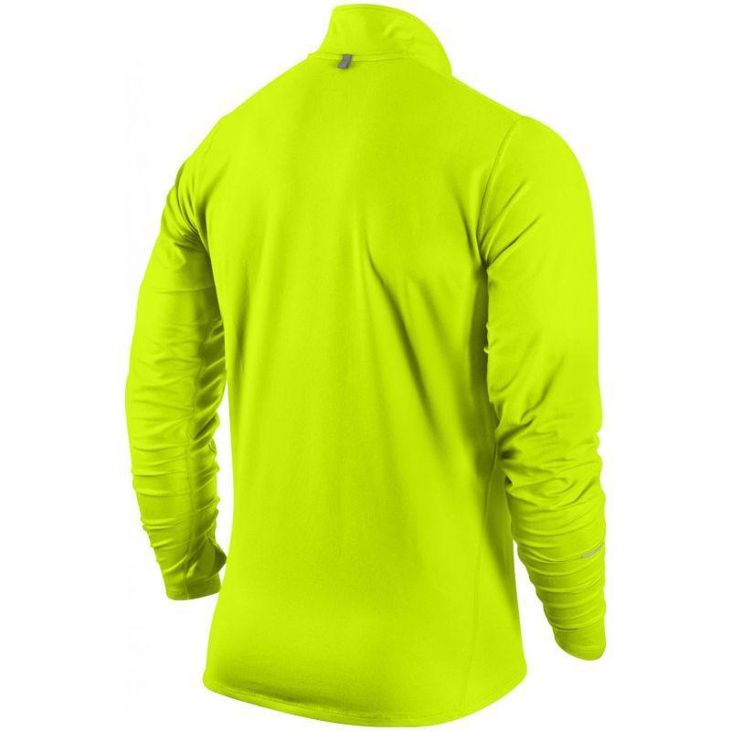 Мужская беговая футболка Nike Element 1/2 Zip LS (504606 703) фото