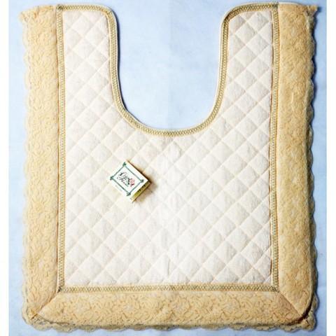 Элитный коврик для унитаза Валансье бежевый от Old Florence