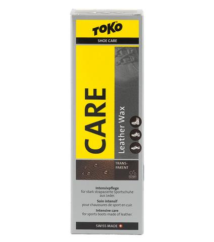 пропитки Toko Leather Wax Transparent - Silicone 75ml
