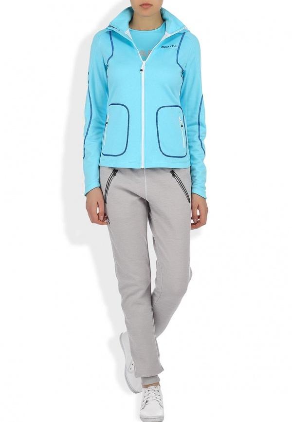 Толстовка Craft Active Hood Zip женская blue