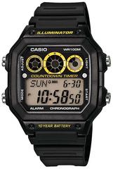 Мужские электронные часы Casio AE-1300WH-1AVDF