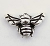 "Бусина TierraCast ""Пчела"" (цвет-античное серебро) 15х9 мм"