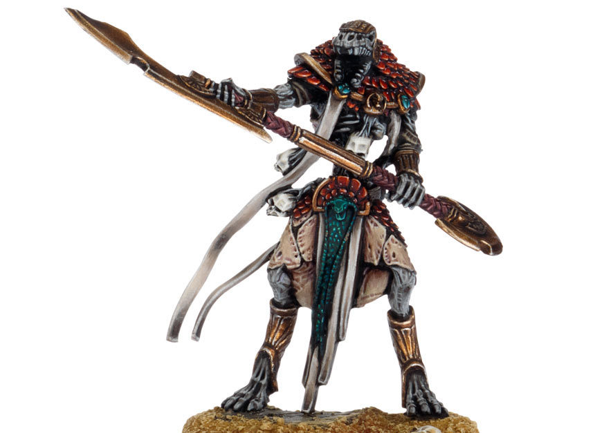 Tomb Kings Ushabti with Great Weapons
