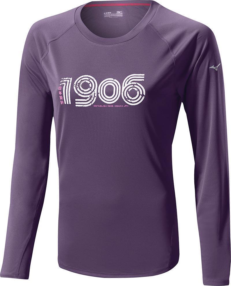Беговая рубашка MIZUNO DRYLITE 1906 L/S TEE