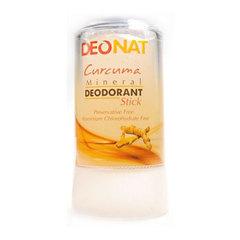 Минеральный дезодорант-кристалл с куркумой DeoNat (60 г)