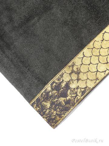 Набор полотенец 2 шт Roberto Cavalli Gold темно-серый