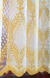 Штора - Французская сетка с вышивкой